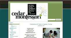 Preview of cedarmontessori.org
